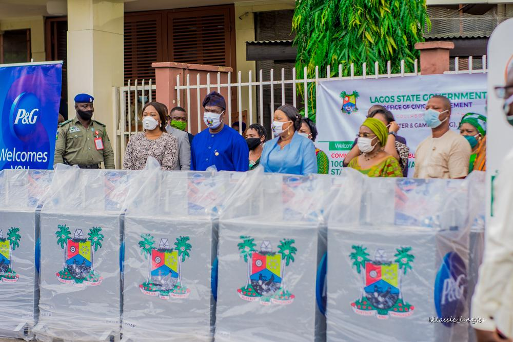 Lagos Govt. begins local production of public hand-washing stations