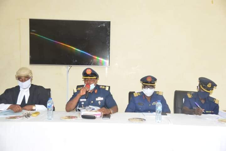 Nigerian Airforce court-martial four officers for funds misappropriation
